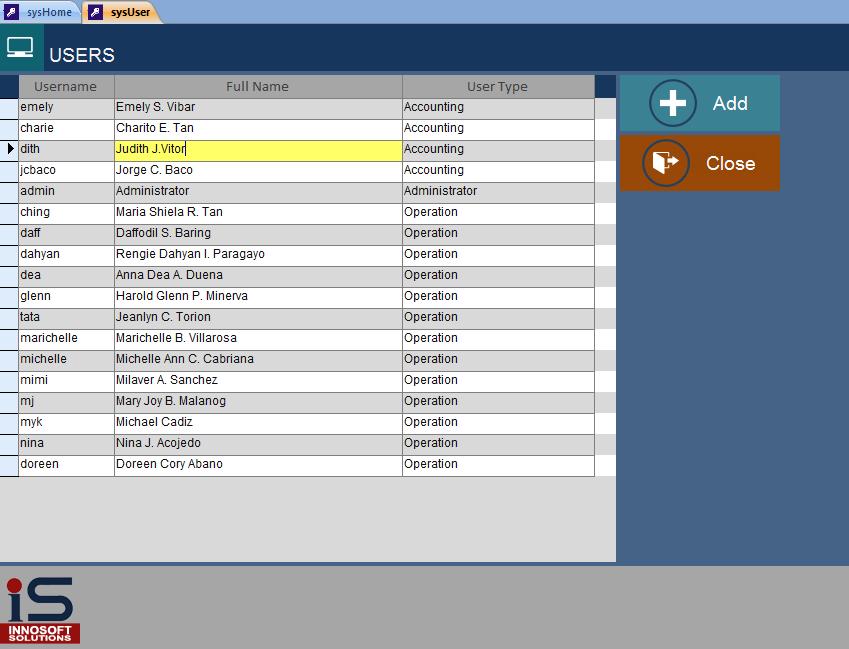 Metro Style Ui For Microsoft Access Application Easytech