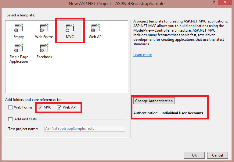 How to create an ASP Net MVC 5 site using bootstrap free templates